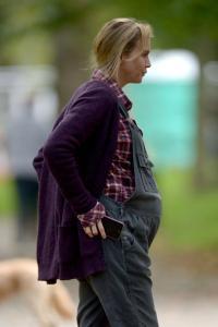 Y esta es la realidad de como lucí embarazada, asi de guapa y elegante